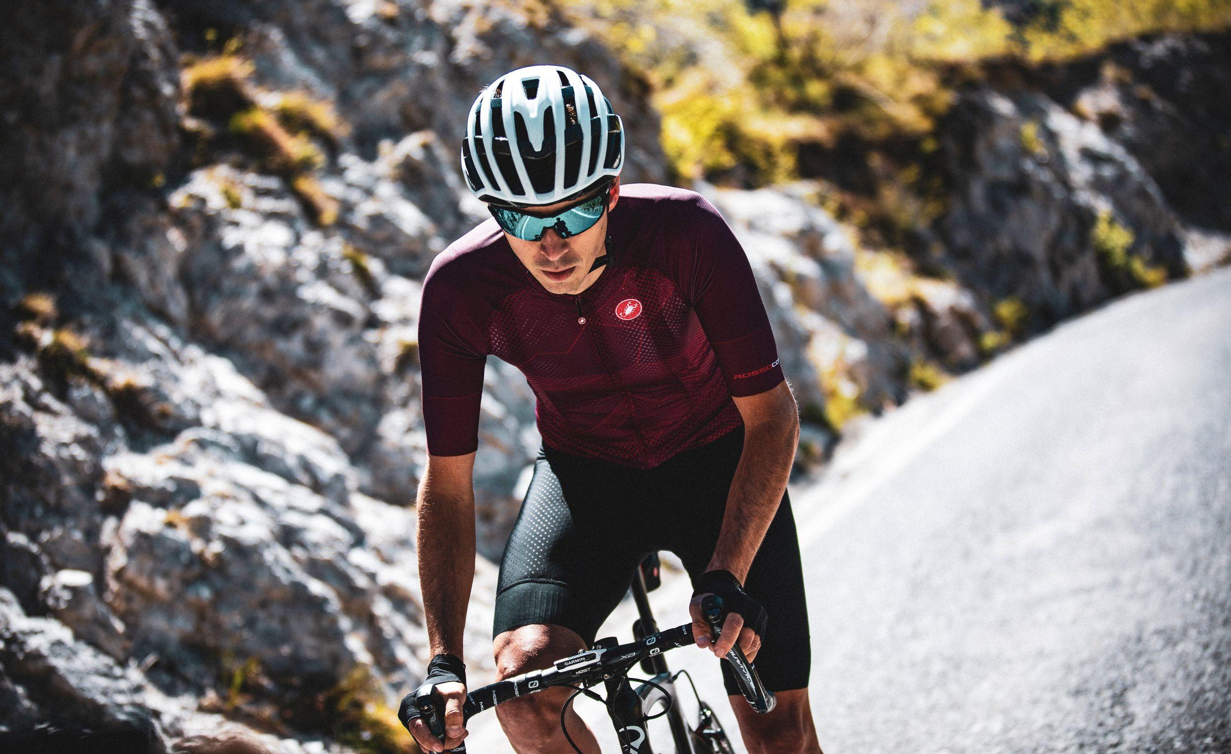Castelli Climber's 3 Fietsshirt voor warme dagen