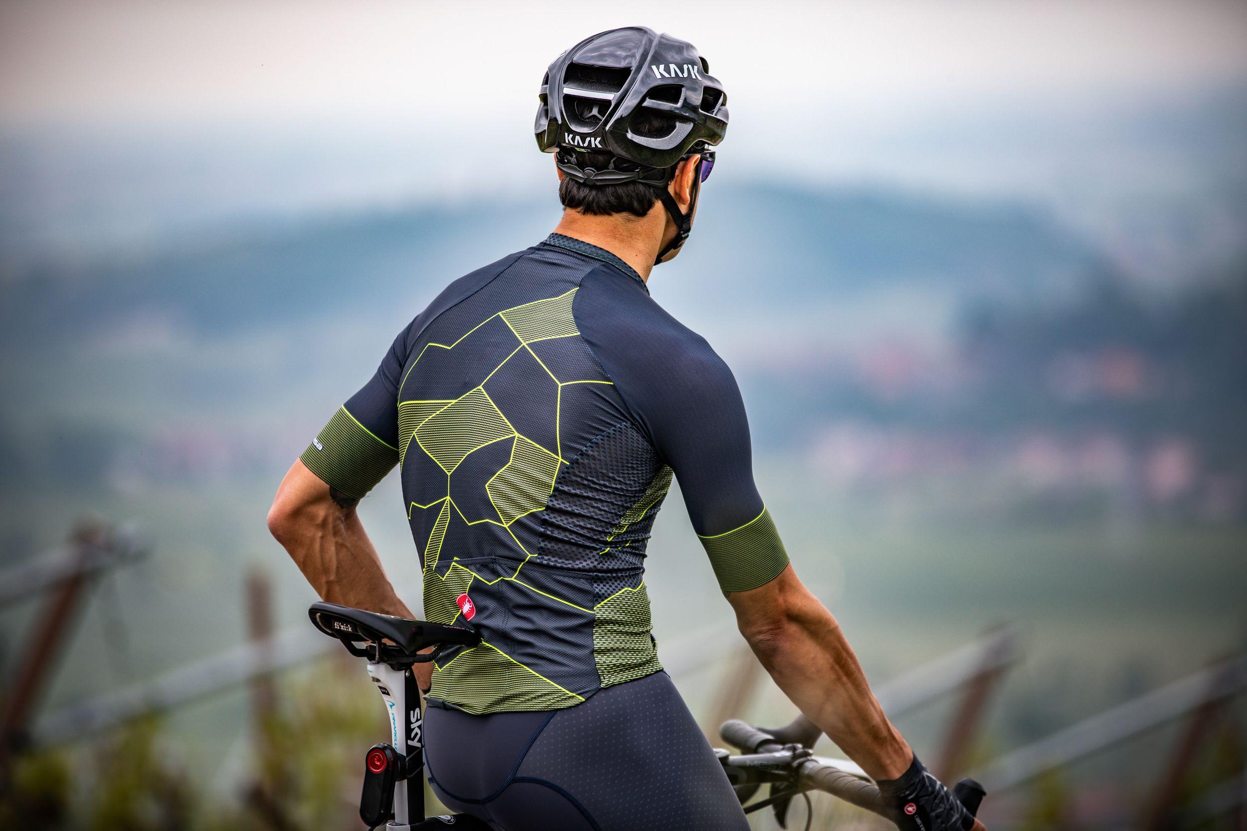 Fietsshirt voor warm weer - Castelli Climber's 3 jersey