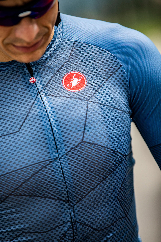 Ademende fietstrui Castelli Climber's Jersey