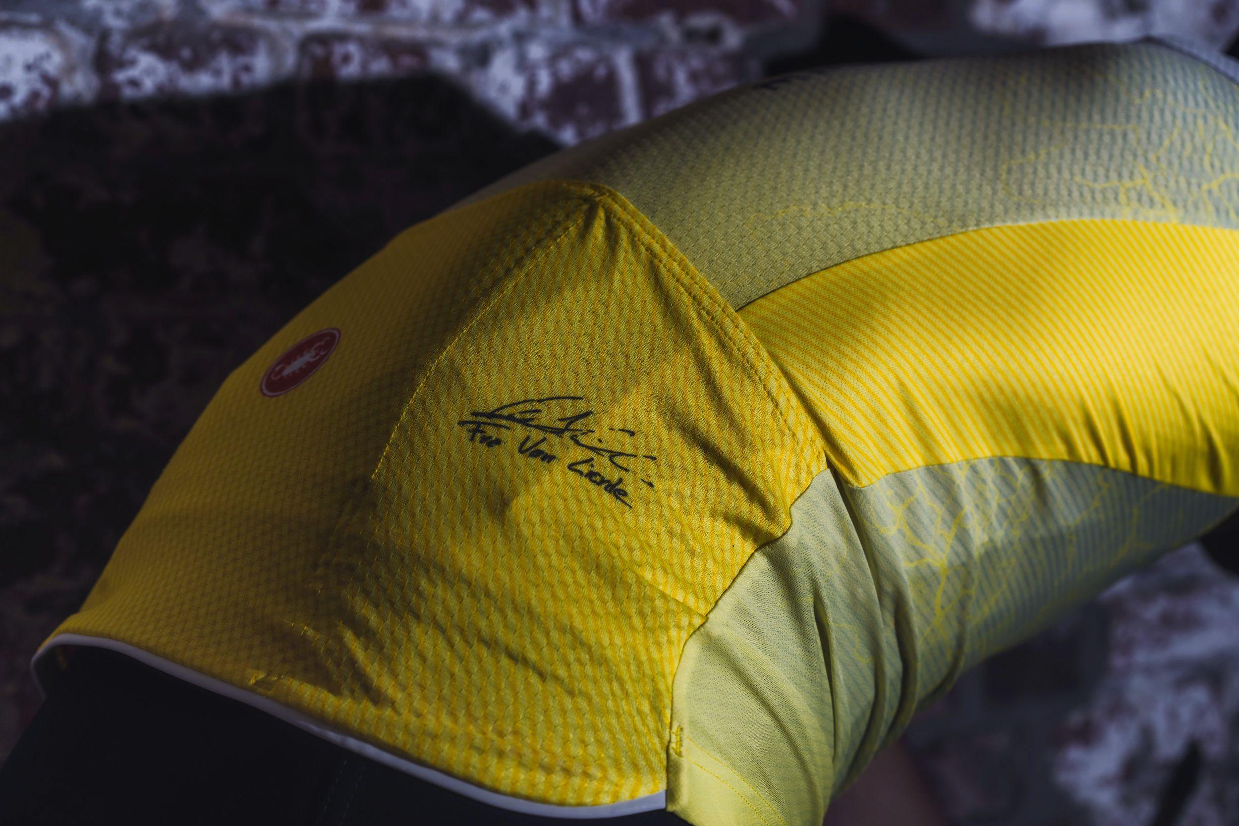 Detail Limited Edition Jersey Frederik Van Lierde