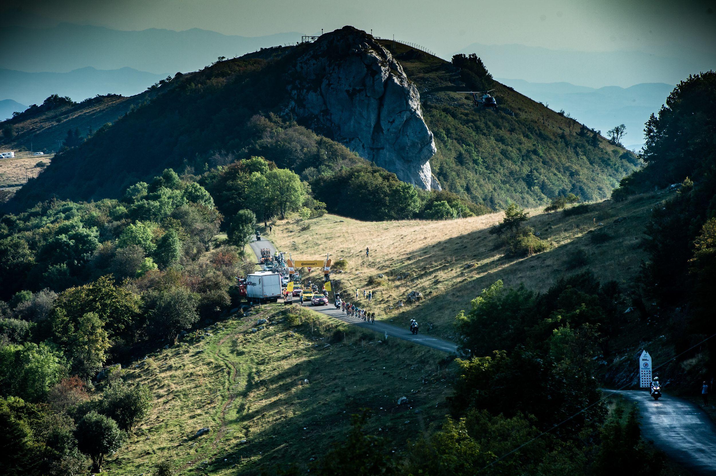 Landschap Tour de France Le Grand Colombier