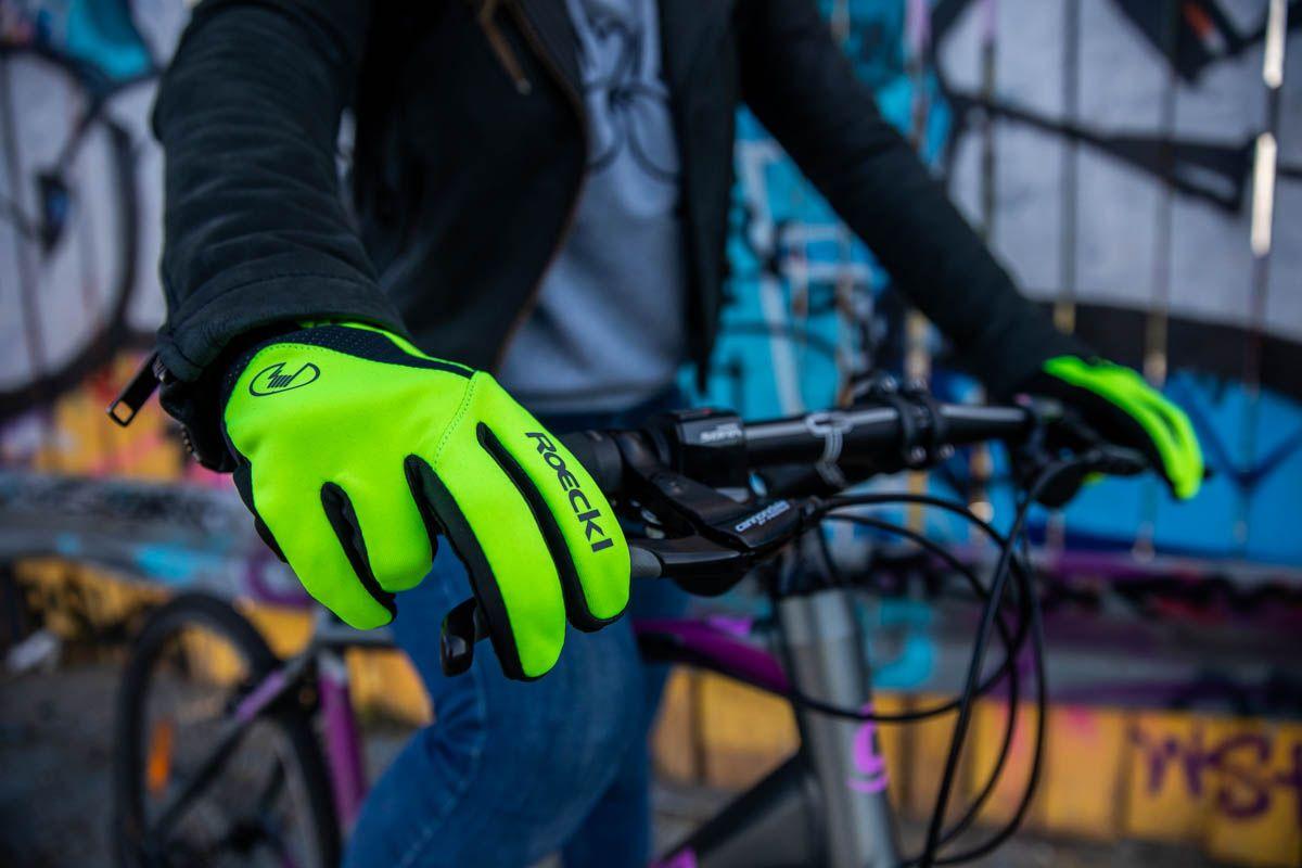 Fluo accessoires voor zichtbaarheid op de fiets