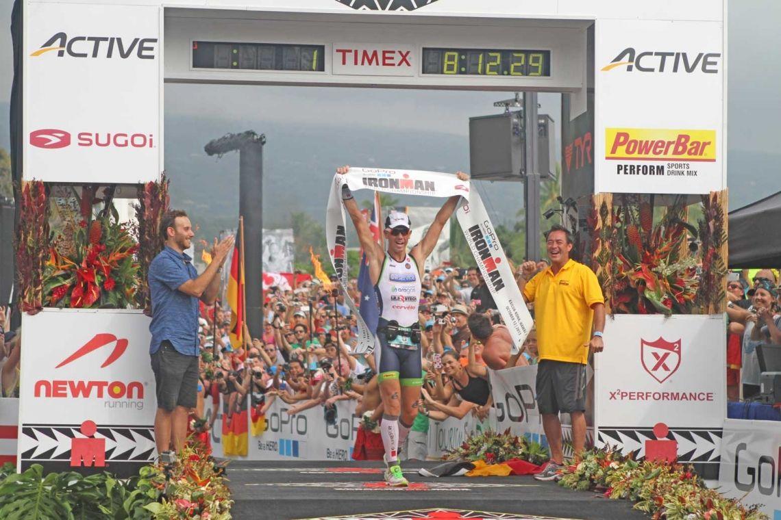 Frederik Van Lierde Ironman Hawaii