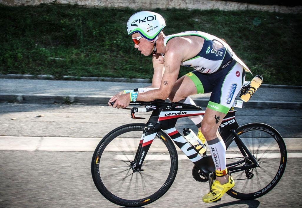 Frederik Van Lierde in Castelli Speed Suit