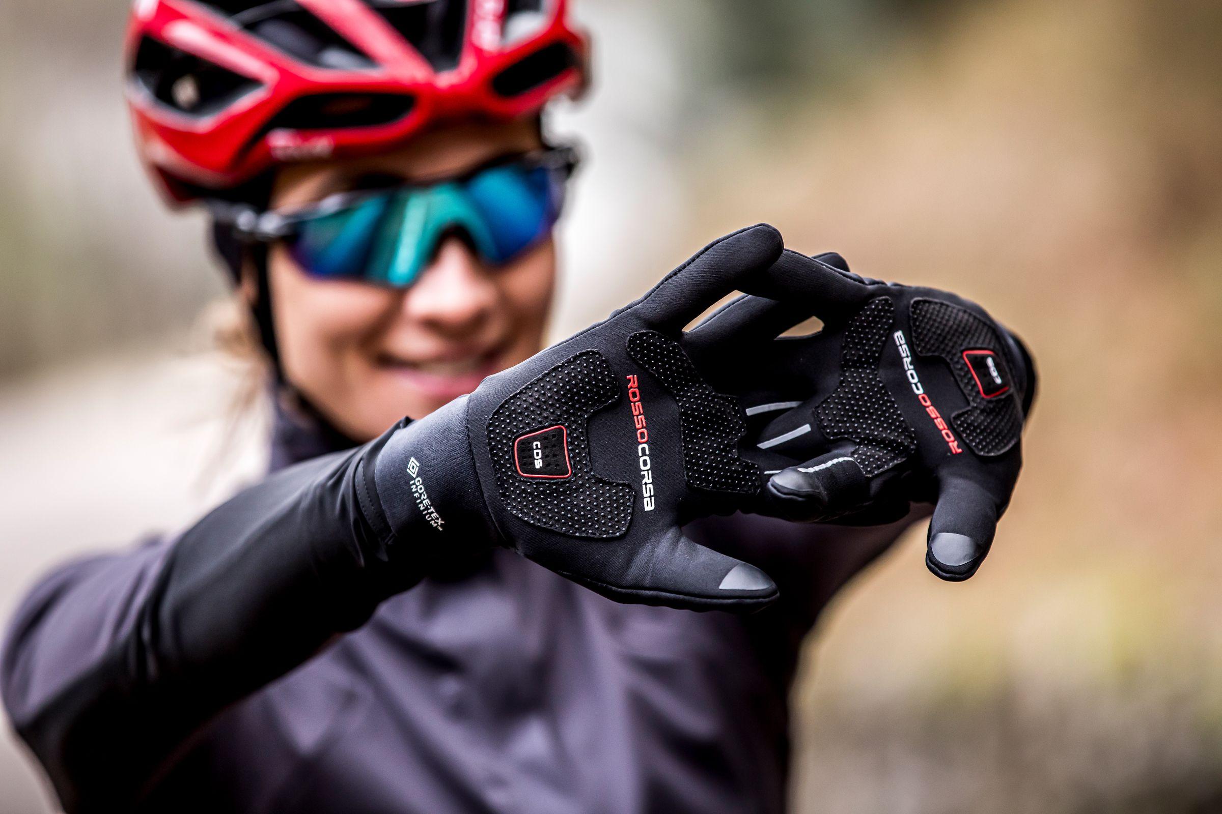 Castelli fietshandschoenen met CDS dempingsysteem