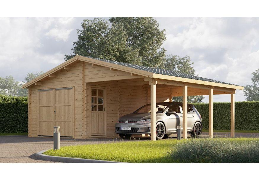 Graed Garage Carport 700x595 Cm 44 Mm Kaufen Bei Azalp De